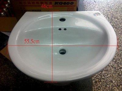 DIY水電材料 凱撒牌 LP2220 洗臉盆 單孔雙孔混合龍頭 可加裝腳柱 尺寸等同和成牌 L367