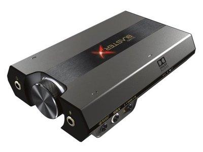 預購一週到~日本~CREATUVE SOUND BLASTERX G6~SBX-G6~耳機擴大機