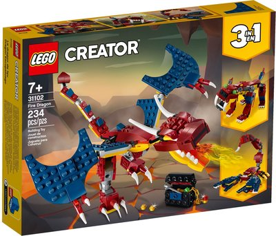 Lego Creator 31102 Fire Dragon- 全新 (注意內文/交收地點及時間)