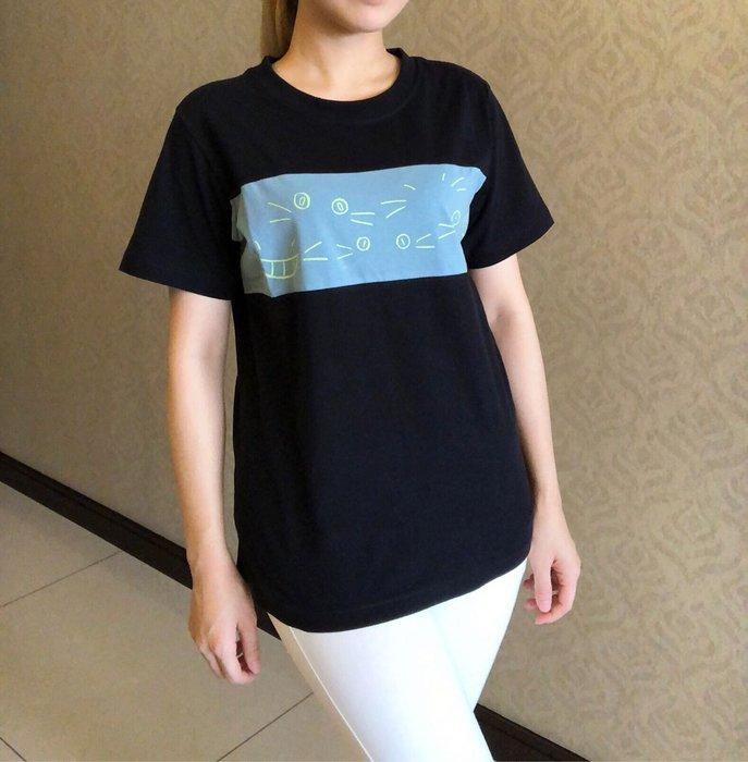 日本卡拉貓~喵的表情包配色棉T上衣