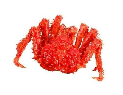 【年菜系列】帝王蟹/約2.5kg以上/隻 蟹肉紮實鮮甜滋味讓人吮指回味 來犒賞自己~數量有限