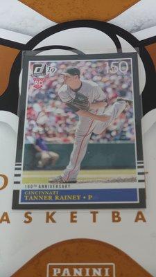 2019 PANINI DONRUSS TANNER RAINEY 新人卡 (限量150張)(126/150)