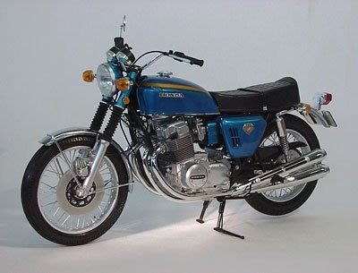TAMIYA 1/6 Honda CB750 Four Candy Blue 藍色機車 限定版 92186