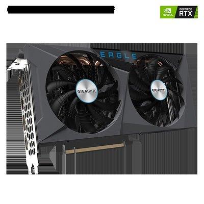 技嘉(GIGABYTE)RTX3060 3060Ti EAGLE OC 獵鷹 電競光追游戲顯卡 3060【升級魔鷹】