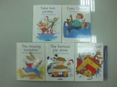 6980銤:A17-2ab☆1994年出版『My Wonderful NUMBERBOX (共5冊) 兒童英語繪本』