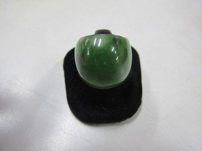 二手舖 NO.3028 天然玉石 豐田玉戒指  首飾飾品