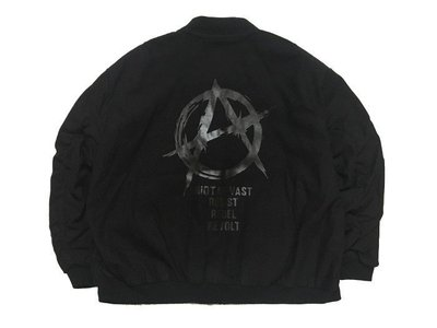 ☆LimeLight☆ VAST RIOT OF VAST MA1 JACKET 飛行外套 黑色 M L