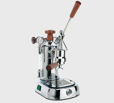 La Pavoni 咖啡拉霸機_PLH 木柄 (La Pavoni Lever Machine)