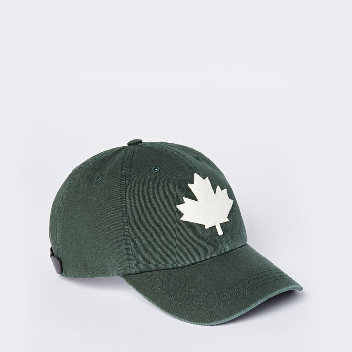 ~☆.•°莎莎~*~☆~加拿大ROOTS Canada Leaf Baseball Cap 棒球帽