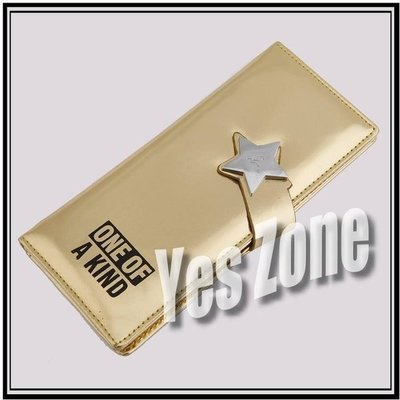 Yes Zone 偶像精品 炫彩銀包 BIGBANG GD 權志龍 金色 清貨價$45包郵 ONE OF A KID