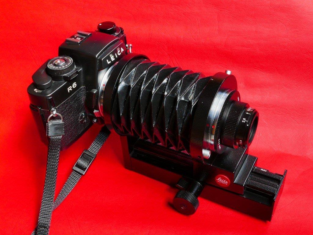 LEICA-R 蛇腹 & PHOTAR 50mm F2.8鏡頭組合