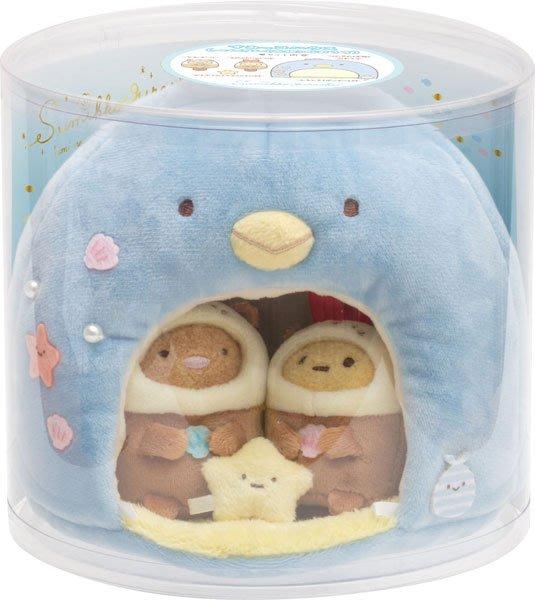 41+ 現貨要等 Y拍最低價 日本正版 角落生物 藍企鵝屋子 附星星 豬排 炸蝦 變裝海獺 沙包娃娃場景 小日尼三