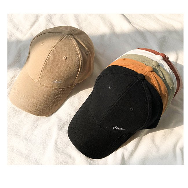 【FAT CAT HOUSE胖貓屋】韓版字母刺繡鴨舌帽 棒球帽 嘻哈帽 運動帽 男帽 女帽 遮陽帽
