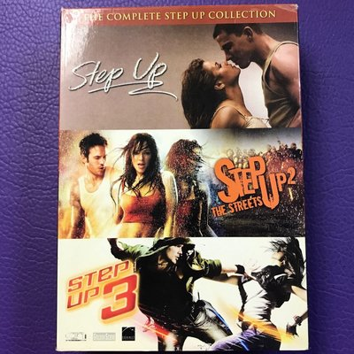 外語電影DVD 舞出真我1-3 STEP UP BOXSET 齊件