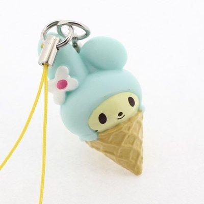 *凱西小舖*特價出清*日本進口三麗歐正版MELODY美樂蒂甜點造型手機吊飾