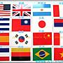 星星-TA003#-世界國旗紋身貼紙-臉貼手臂貼轉印貼-4.5x3-世界盃奧運亞運選舉抗議遊行比賽愛國運動會全大運全中運