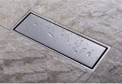 浴室好優雅 304 18-8 無鉛不鏽鋼 長方形 下水 地漏 排水孔 排水槽