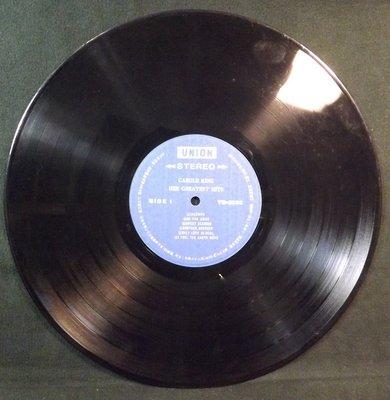 黑膠唱片 CAROLE KING-HER GREATEST HITS~10JF02~80 桃園市