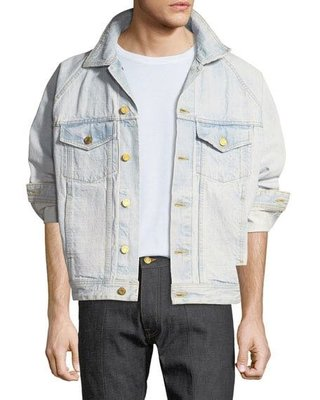 Fear of god Fifth Collection selvedge denim trucker jacket