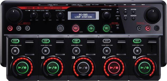 【六絃樂器】全新 Boss RC-505 Loop Station 旗艦樂句循環工作站 即時錄音取樣效果器 / 現貨特價