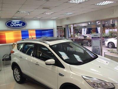 華峰興業 ARTC認證合格 FORD KUGA 車款專用 美規鋁合金車頂架 行李架 橫桿(銀色) 附發票$3,300