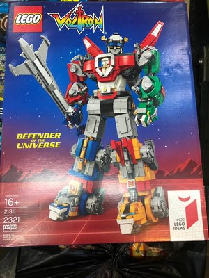 現貨 樂高LEGO 21311 聖戰士/百獸王/Voltron ,提供美國樂高代購直送台灣。