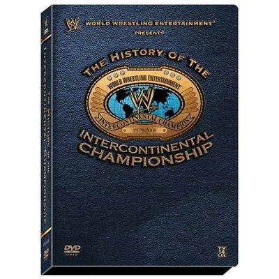 ☆阿Su倉庫☆WWE 摔角 History of the Intercontinental Champ DVD 洲際冠軍精選典藏組 熱賣特價中