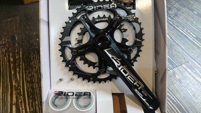 [304bike 台北市]Ridea 46 30 T 橢圓 大盤 + 腿組 鋼軸 690g 46/30 T 壓縮盤
