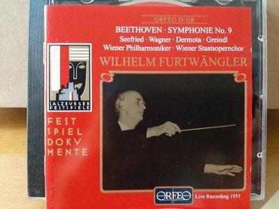 Furtwangler,Wiener Phi,Beethoven-Sym No.9福特萬格勒指揮維也納愛樂,演繹貝多芬-第9號交響曲合唱