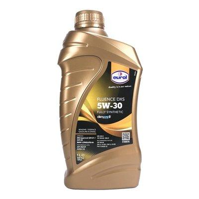 【油大亨】《EUROL》Fluence DXS 5W30 全合成機油1L(歐盟原裝進口)
