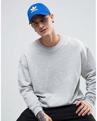 Washoes Adidas Originals 經典 寶藍 白 三葉草 老帽 BK7271 帽子 老帽 彎帽 藍血