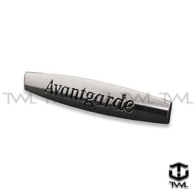 《※台灣之光※》全新 BENZ 賓士 Avantgarde 葉子板高級鍍鉻標誌 W204 W211 AMG台灣製