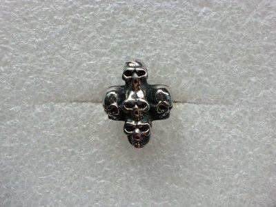 十字架骷髏頭戒