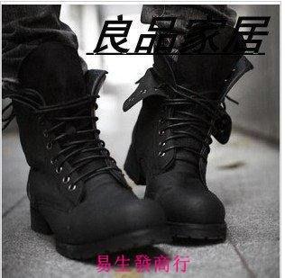 【易生發商行】男士靴英倫潮男靴子韓版靴...
