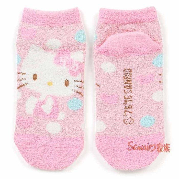 《東京家族》現貨日本三麗鷗 hello kitty 凱蒂貓 韓版短毛襪子