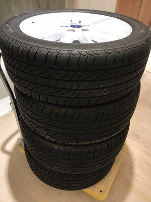 自售FOCUS 17吋 MK3.5 ux鋁圈含胎米其林LC215/50/17metrostar mondeo五孔108 牽車一個月拆下 只跑3000公里