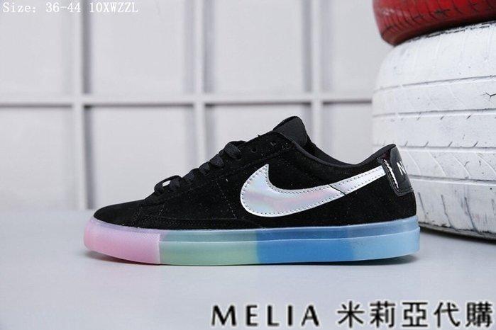 Melia 米莉亞代購 美國空姐代購 NIKE BLAZER LOW 開拓者 低筒 真皮材質 男女情侶款 滑板鞋