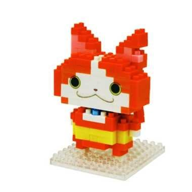 尼德斯Nydus~* 日本正版 妖怪手錶 吉胖貓 拳師貓 nanoblock KAWADA 河田小積木 樂高