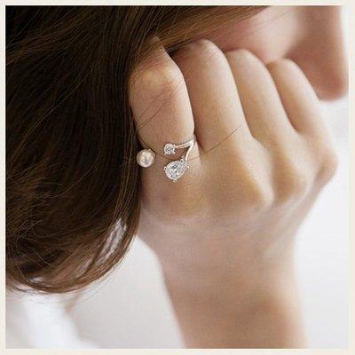 許願骨頭可調式戒指。韓國空運飾品。SS0805!STYLEON!【cgri003】