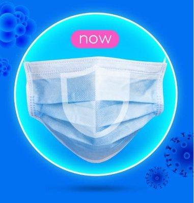 兒童口罩現貨50入 非醫療用 三層式內含熔噴布 非台灣製 袋裝 防飛沫 一次性口罩 拋棄式口罩 進口口罩 每片不到2元