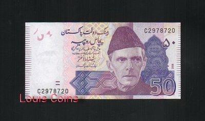 【Louis Coins】B131-PAKISTAN--2008巴基斯坦紙幣50 Rupees