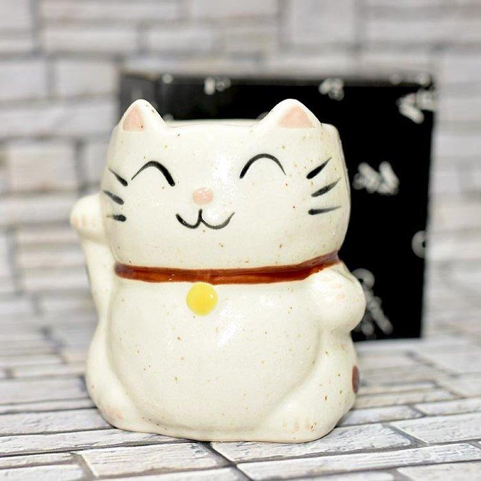 招財貓 馬克杯 陶製 日本製
