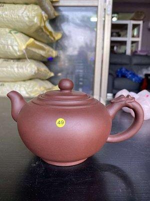 BQQ紫砂老茶壺黃49