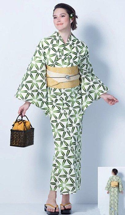 01日本和服浴衣 棉 古典花色 清新