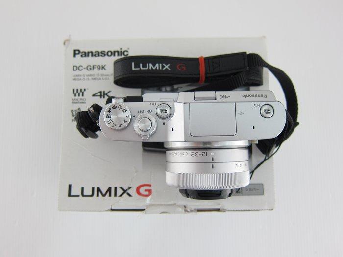 Panasonic GF9+12-32mm變焦鏡 微單眼/盒裝*7200元*(XD051)