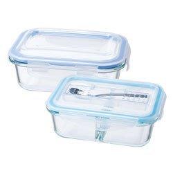 鍋寶耐熱保鮮盒健康生活2件組(附餐具)   兩個一起買購買價:400 元  單買購買價:230 元