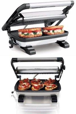 美國 Hamilton Beach 25452-MX 不鏽鋼 三明治 烤麵包機 1200W,營業 烤吐司 烤箱 早餐店