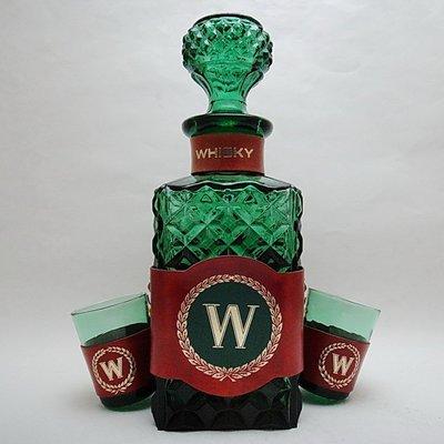 小 西 洋 ☪ ¸¸.•*´¯` 德國製Whisky威士忌酒壺&酒杯三件組