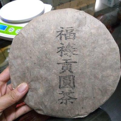 80年福祿貢老生普洱茶餅~很好喝大讚。