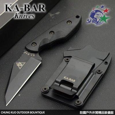 詮國 KA-BAR 3.6吋 Hinderer Hinderance 直刀 - 2485